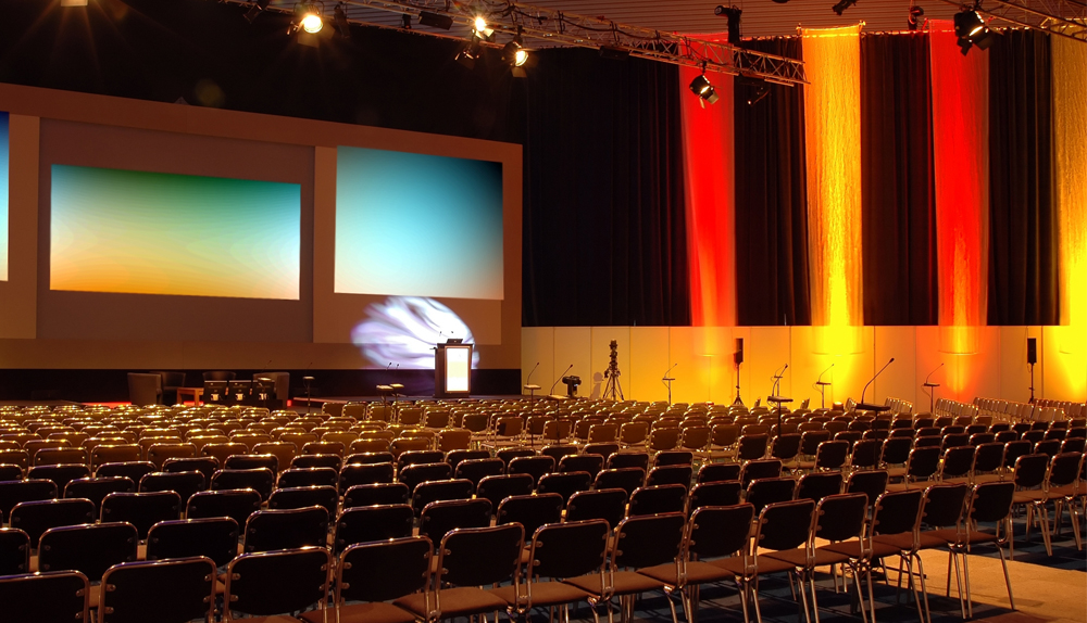 Allow us to organise a superb congress, a flawless event for you